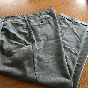 Haggar 42 x 30 cuffed dress pants